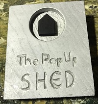 The Pop-Up Shed  event.