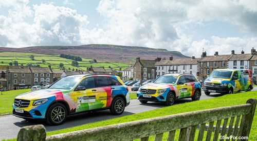 2019 UCI Road World Championships publicity caravan vehicles