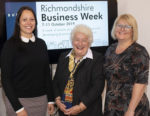 Baroness Harris at Richmondshire Business Week launch event