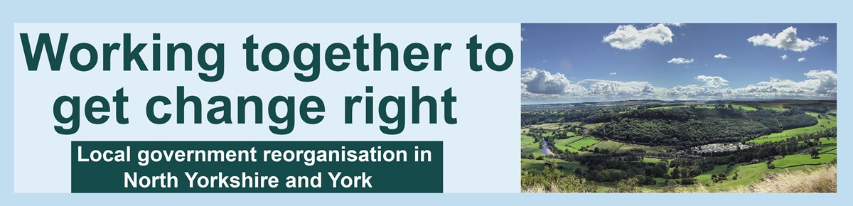 Local government reorganisation in North Yorkshire and York