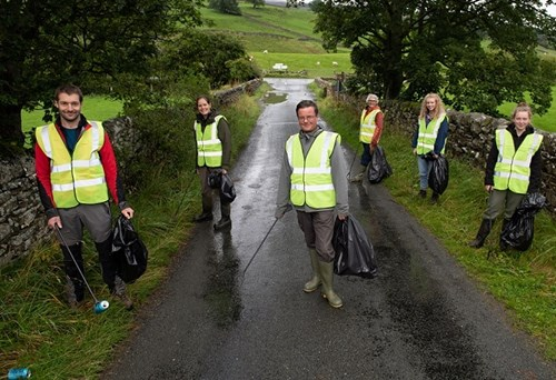 Sustainable Swaledale volunteers