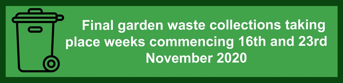 Last garden waste collections 2020
