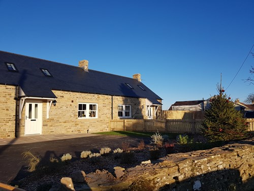 The new community led homes in Hudswell